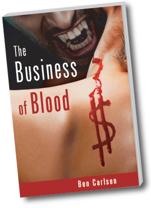 The Business of Blood - Book